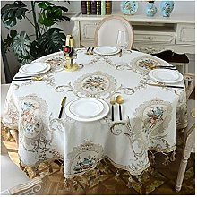 William 337 Tablecloth Fabric Home Round