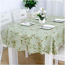 William 337 Tablecloth-oval Table Cloth Foldable