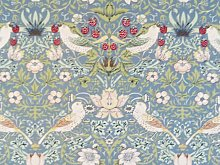 William Morris Gallery Blue Strawberry Thief Minor