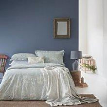 William Morris Pure Honeysuckle & Tulip Bedding,