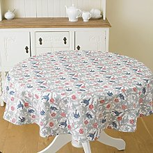 William Morris Trellis 147cm Round Cotton Floral