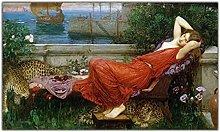 William Waterhouse《Ariadne》Canvas oil painting