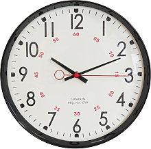 WILLIAM WIDDOP 30cm Metal Case Kitchen Clock -