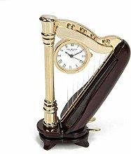 william widdop Harp Miniature Clock