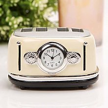 william widdop Miniature Clock - Cream Toaster
