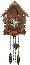 WILLIAM WIDDOP Pitched Roof Cuckoo Clock - Small