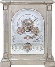 WILLIAM WIDDOP Wireless Radio Mantel Clock with