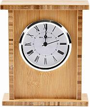 WILLIAM WIDDOP Wooden Arched Mantel Clock