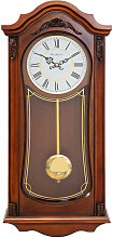 WILLIAM WIDDOP Wooden Pendulum Clock with