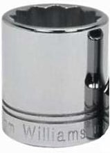 Williams STM-1213 1//2 Drive Shallow Socket 12 Point 13mm JH Williams Tool Group