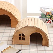 Willlly Hedgehog House With Ground Wood Hamster