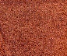 Willow Herringbone Weave Chenille Orange Rust