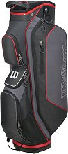 Wilson ProStaff Golf Cart Bag - Black and Red