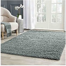 Wilsons Direct Thick shaggy Rug |Silver Grey |