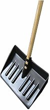 Wilsons Snow Shovel Paddle with Long Wooden Sturdy