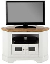 Wiltshire Corner Tv Unit - Fits Up To 40 Inch Tv