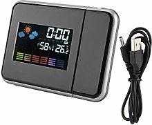 Wincal Projection Alarm Clock-Digital LED Weather