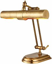 Winchester brass table lamp