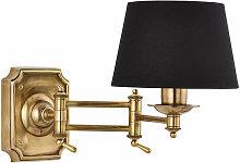 Winchester Wall Lamp Brass