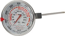Winco 3-Inch Dial Deep Fry/Candy Thermometer with