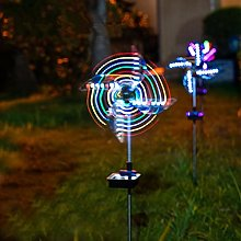 Wind Spinners with LED Solar Lights, Fantastic