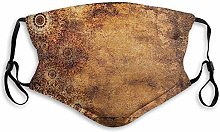 Winddichte Aktivkohle-Mas-ke,Aged Old Texture