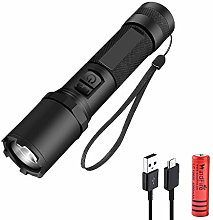 WindFire LED Torch Rechargeable, 8000 Lumen Super