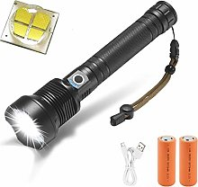 WindFire LED Torch, USB Rechargeable Flashlight,
