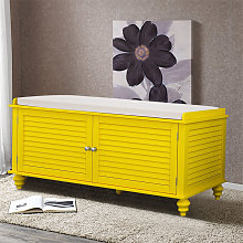 Window Bench Shoes Cabinet Storage Rack with Seat