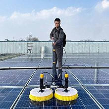 Window Cleaner, Electric Solar Photovoltaic Panel