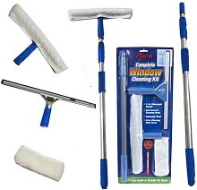 Window Cleaning KIT Telescopic Pole Cleaner Home