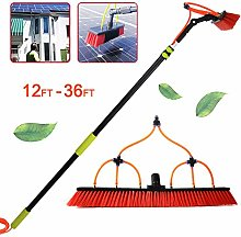 Window Cleaning Pole, Water Fed Telescopic Brush,