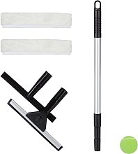 Window Cleaning Set, 5-Piece Pro Set, Squeegee &