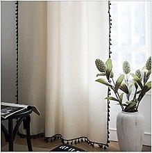 Window Curtains Geometric Semi-Blackout Bohemian