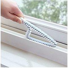 Window or sliding door cleaning brush -