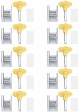 Window Security Lock, 10 Set Strong Sturdy Non -