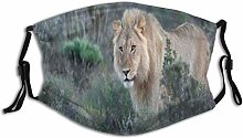 Windproof Mask Animal Wild Lion Image Carnivore
