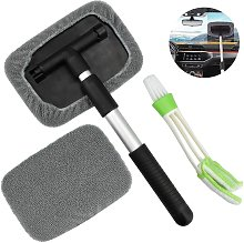 Windshield Squeegee, Car Cleaning Tools, Pivoting