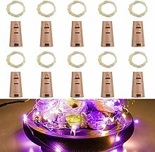 Wine Bottle Lights with Cork,RcStarry 3.3Ft/1M 10
