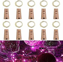 Wine Bottle Lights with Cork,RcStarry 7Ft/2M 20