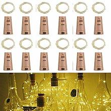Wine Bottle Lights with Cork,RcStarry(TM) 3.3Ft/1M