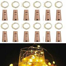 Wine Bottle Lights with Cork,RcStarry(TM) 7Ft/2M