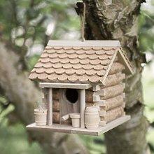Wine Cork Hanging Bird House