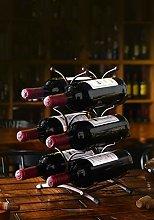 Wine Rack (35.5x23x16cm)-Can Accommodate 6