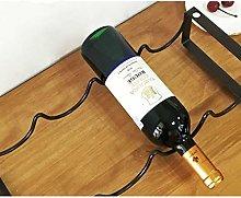 Wine rack | 4 bottle free standing wine rack | for