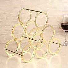 Wine Rack Creative Multi-Layer Metal Wine Cabinet