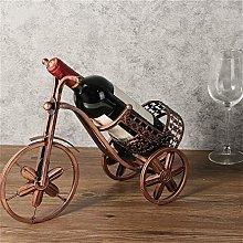 Wine Rack, Creative Tricycle Iron Wine Rack,