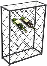 Wine Rack Free Standing, Wine Display Stand 32