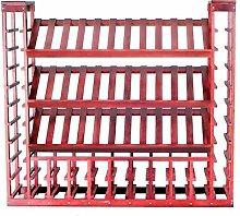 Wine Rack Large Capacity Wine Cabinet 72 bottles