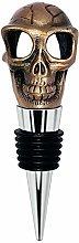 Wine Stopper - Skull Decorative Bottle Stopper,